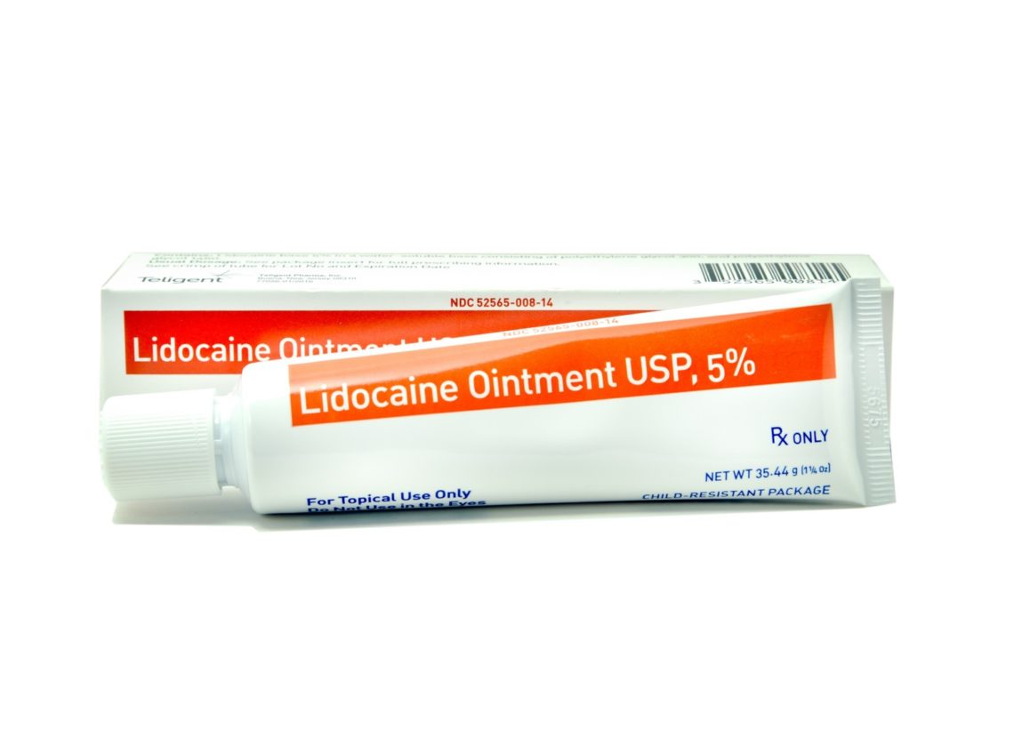Lidocaine Ointment for Hemorrhoids